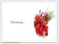 Crea cartoline personalizzate con testo di auguri Sfondo fiori