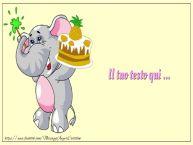 Crea cartoline personalizzate con testo per Bambini Sfondo Tanti Auguri Bambini