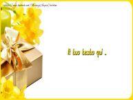 Crea cartoline personalizzate con testo di buongiorno Buon compleanno