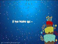 Crea cartoline personalizzate con testo di compleanno Compleanno - Torta