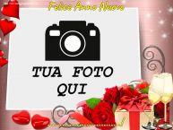 Crea cartoline personalizzate di Buon Anno   Felice Anno Nuovo ...! - Cornice foto di Buon Anno