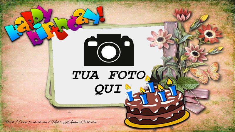 Crea cartoline personalizzate di compleanno | Happy birthday