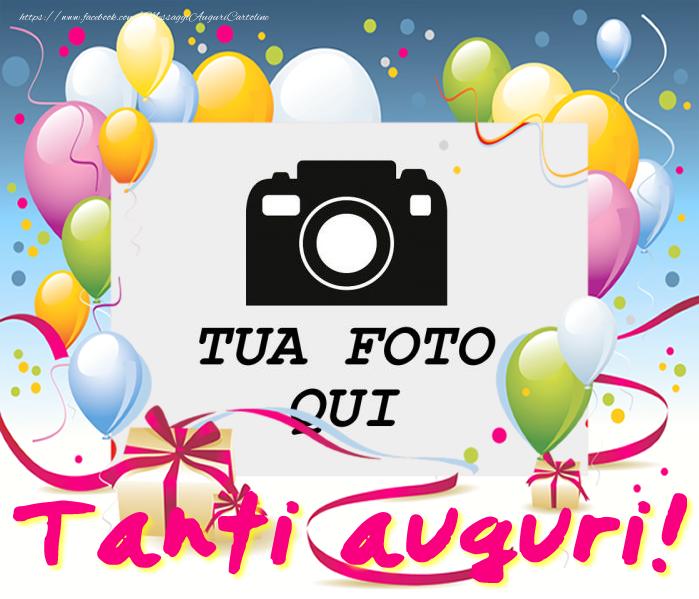 Crea cartoline personalizzate di compleanno   Tanti auguri!