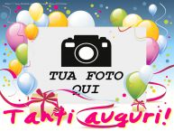 Crea cartoline personalizzate di compleanno | Tanti auguri!