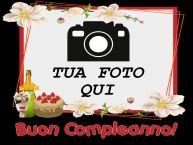 Crea cartoline personalizzate di compleanno | Buon Compleanno! - Cornice foto