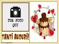 Crea cartoline personalizzate di compleanno   Tanti Auguri! - Cornice foto