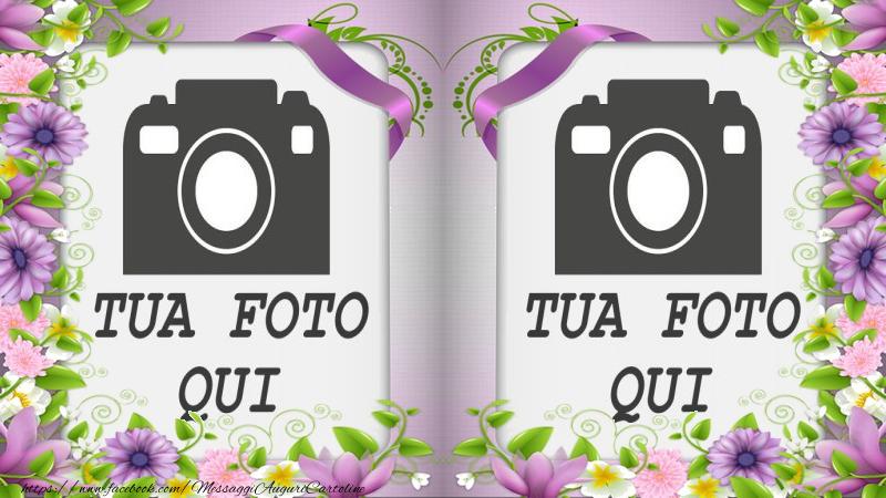 Crea cartoline personalizzate con foto   Cartolina personalizzata doppia