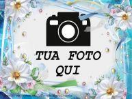 Crea cartoline personalizzate con foto | Biglietto di auguri con i fiori
