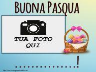 Crea cartoline personalizzate di Pasqua | Buona Pasqua ...! - Cornice foto