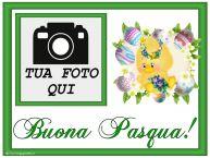 Crea cartoline personalizzate di Pasqua | Buona Pasqua! - Cartolina personalizzate con la tua foto profilo facebook