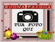 Crea cartoline personalizzate di Pasqua | Buona Pasqua - Cartolina personalizzate con la tua foto profilo facebook