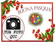 Crea cartoline personalizzate di Pasqua | Buona Pasqua! - Cornice foto