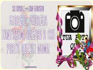 Crea cartoline personalizzate di San Giorgio | 23 Aprile - San Giorgio Giorgio, Giorgia Tantissimi auguri a chi porta questi nomi! ... - Cornice foto