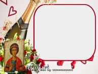 Crea cartoline personalizzate di San Giorgio | Auguri, ...! - Cornice foto