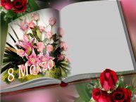 Crea cartoline personalizzate per Festa della Donna | 8 Marzo - Cornice foto per la Festa delle Donne