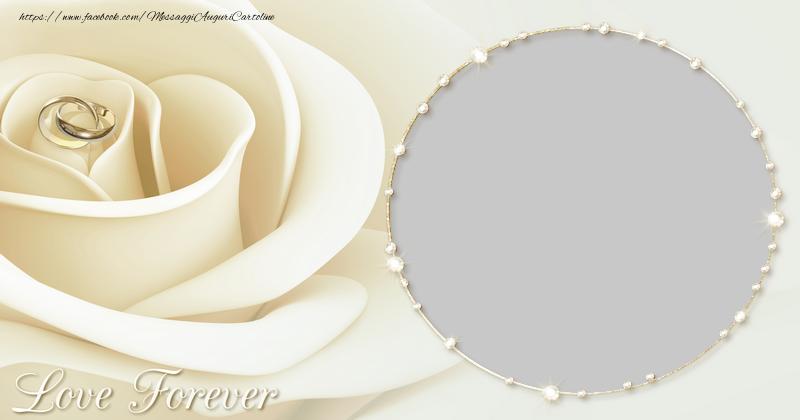 Crea cartoline personalizzate d'amore   Love forever