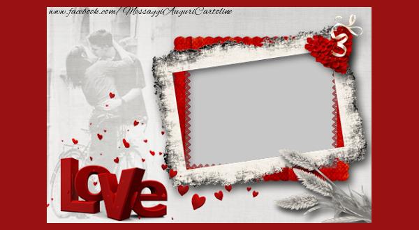 Crea cartoline personalizzate d'amore | Love you