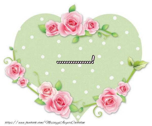 Crea cartoline personalizzate d'amore | Nome nel Cuore - ...