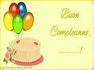 Crea cartoline personalizzate di auguri | Buon Compleanno, ...