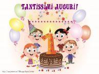 Crea cartoline personalizzate per Bambini | Tantissimi Auguri! ...