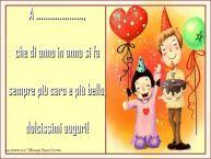 Crea cartoline personalizzate per Bambini | che di anno in anno si fa sempre più caro e più bello, dolcissimi auguri! ...
