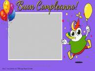 Crea cartoline personalizzate per Bambini | Buon Compleanno ...!