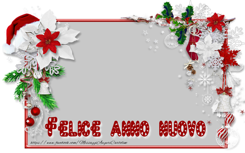 Crea cartoline personalizzate di Buon Anno | Felice anno nuovo