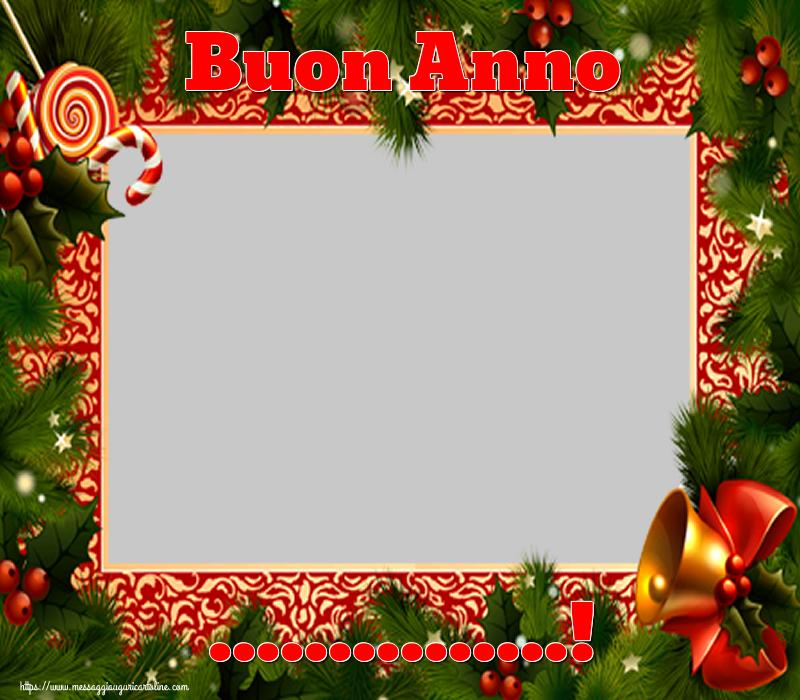 Crea cartoline personalizzate di Buon Anno | Buon Anno ...! - Cornice foto di Buon Anno