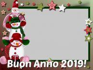 Crea cartoline personalizzate di Buon Anno | Buon Anno 2019! - Cornice foto di Buon Anno