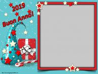 Crea cartoline personalizzate di Buon Anno | 2019 Buon Anno! - Cornice foto di Buon Anno
