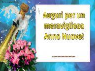 Crea cartoline personalizzate di Buon Anno | Auguri per un meraviglioso Anno Nuovo! ...