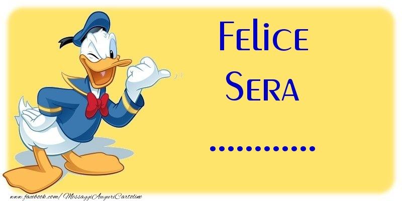 Crea cartoline personalizzate di buonasera | Felice Sera ...
