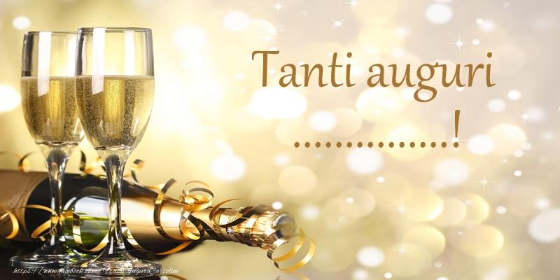 Crea cartoline personalizzate di compleanno   Tanti auguri ...!