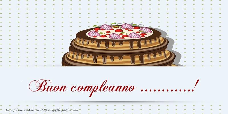 Crea cartoline personalizzate di compleanno | Buon compleanno ...! Torta