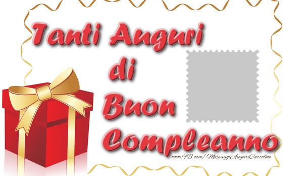 Crea cartoline personalizzate di compleanno | Tanti Auguri di Buon Compleanno