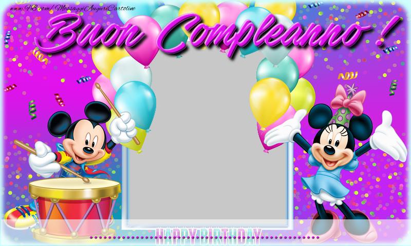Crea cartoline personalizzate di compleanno | Buon compleanno ...