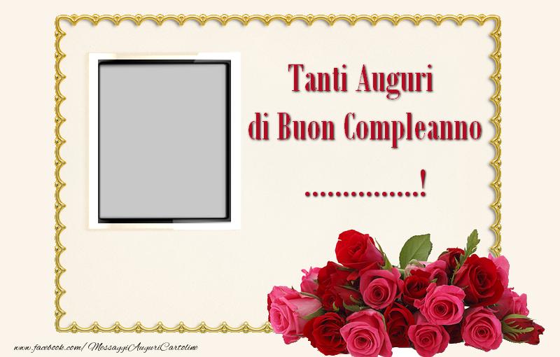 Crea Cartoline Personalizzate Con Foto E Nome Compleanno Tanti