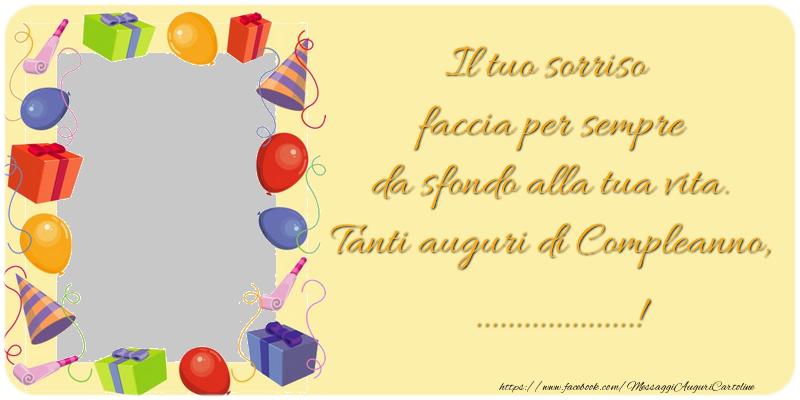 Crea Cartoline Personalizzate Con Foto E Nome Compleanno Il Tuo