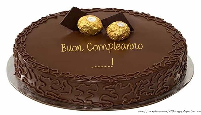 Crea cartoline personalizzate di compleanno | Torta - Buon Compleanno ...!