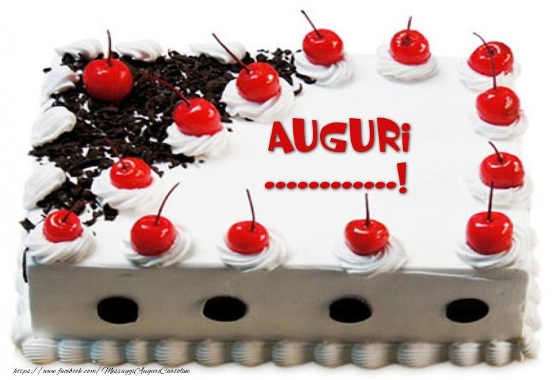Crea cartoline personalizzate di compleanno | Torta Auguri ...!