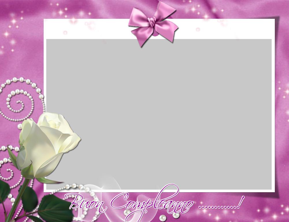 Crea cartoline personalizzate di compleanno | Buon Compleanno ...! - Cornice foto di Compleanno
