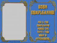 Crea cartoline personalizzate di compleanno | Buon Compleanno, Per il tuo Compleanno vorrei che tutti i tuoi sogni si avverassero...