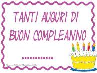 Crea cartoline personalizzate di compleanno | Tanti Auguri di Buon Compleanno ...