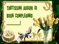 Crea cartoline personalizzate di compleanno | Tantissimi auguri di buon compleanno ...!