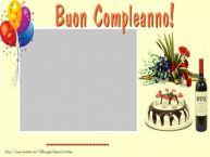 Crea cartoline personalizzate di compleanno | Buon Compleanno ...!