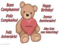 Crea cartoline personalizzate di compleanno | Buon Compleanno ...! - HD