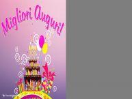 Crea cartoline personalizzate di compleanno | Migliori Auguri! - Cornice foto di Compleanno