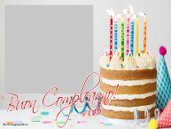 Crea cartoline personalizzate di compleanno   Buon Compleanno! - Cornice foto di Compleanno