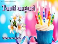 Crea cartoline personalizzate di compleanno | Tanti auguri ...!