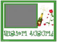 Crea cartoline personalizzate di compleanno | Migliori Auguri! - Cornice foto